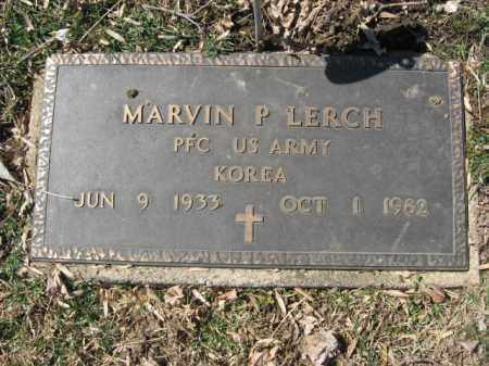 LERCH, MARVIN P. - Northampton County, Pennsylvania | MARVIN P. LERCH - Pennsylvania Gravestone Photos