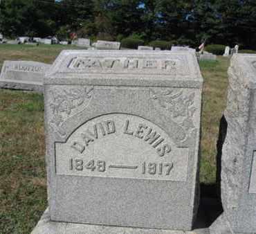 LEWIS, DAVID - Northampton County, Pennsylvania   DAVID LEWIS - Pennsylvania Gravestone Photos