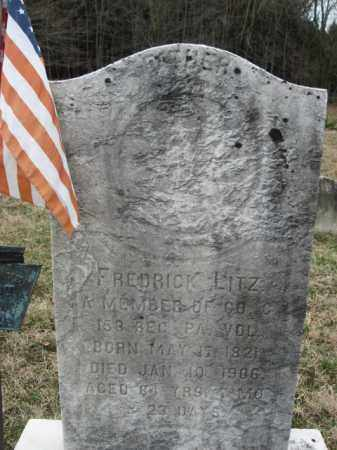 LITZ   (CW), FREDRICK - Northampton County, Pennsylvania | FREDRICK LITZ   (CW) - Pennsylvania Gravestone Photos