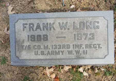 LONG (WW II), FRANK W. - Northampton County, Pennsylvania | FRANK W. LONG (WW II) - Pennsylvania Gravestone Photos