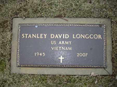 LONGCOR (VN), STANLEY DAVID - Northampton County, Pennsylvania | STANLEY DAVID LONGCOR (VN) - Pennsylvania Gravestone Photos
