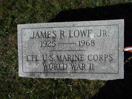 LOWE,JR., JAMES R. - Northampton County, Pennsylvania | JAMES R. LOWE,JR. - Pennsylvania Gravestone Photos
