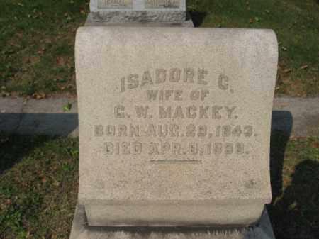 MACKEY, ISADORE C. - Northampton County, Pennsylvania | ISADORE C. MACKEY - Pennsylvania Gravestone Photos