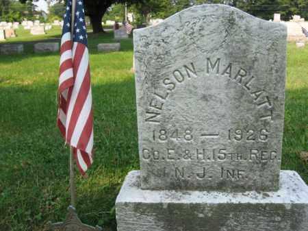 MARLATT, NELSON - Northampton County, Pennsylvania | NELSON MARLATT - Pennsylvania Gravestone Photos