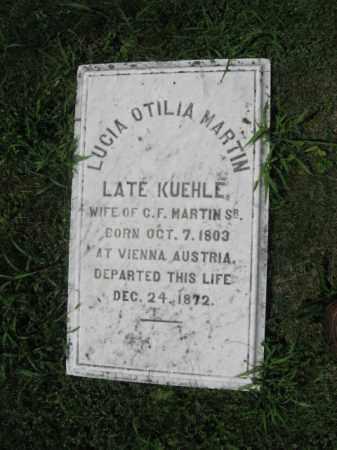 KUEHLE MARTIN, LUCIA OTILIA - Northampton County, Pennsylvania | LUCIA OTILIA KUEHLE MARTIN - Pennsylvania Gravestone Photos
