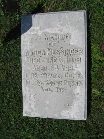MESSINGER, AARON - Northampton County, Pennsylvania | AARON MESSINGER - Pennsylvania Gravestone Photos