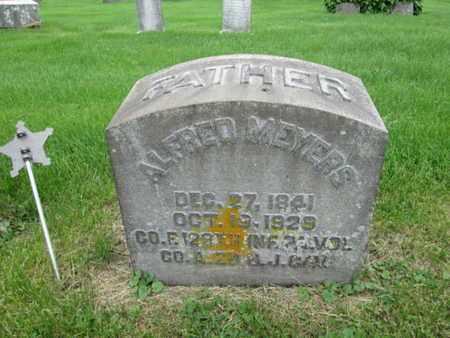 MEYERS (CW), ALFRED - Northampton County, Pennsylvania | ALFRED MEYERS (CW) - Pennsylvania Gravestone Photos