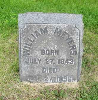 MEYERS, WILLIAM - Northampton County, Pennsylvania | WILLIAM MEYERS - Pennsylvania Gravestone Photos