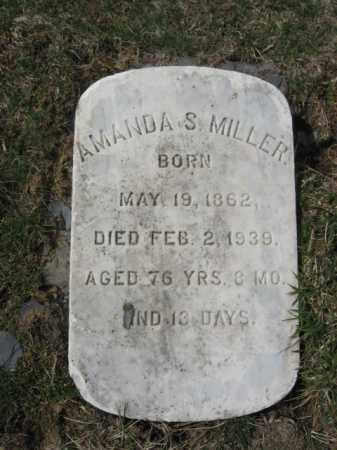 MILLER, AMANDA  S. - Northampton County, Pennsylvania | AMANDA  S. MILLER - Pennsylvania Gravestone Photos