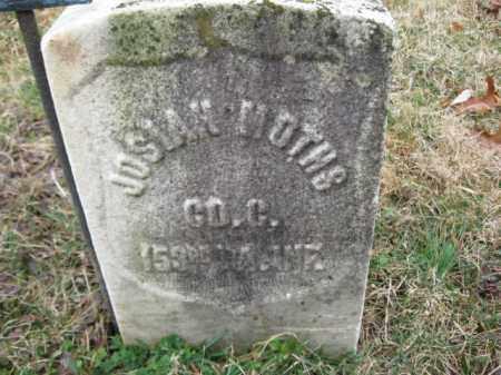 MOTHS   (CW), PVT.JOSIAH - Northampton County, Pennsylvania   PVT.JOSIAH MOTHS   (CW) - Pennsylvania Gravestone Photos
