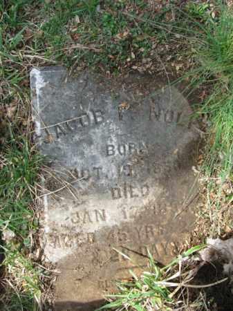 NOLF, JACOB F. - Northampton County, Pennsylvania | JACOB F. NOLF - Pennsylvania Gravestone Photos