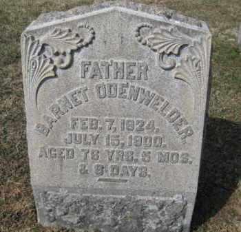 ODENWELDER, BARNT - Northampton County, Pennsylvania   BARNT ODENWELDER - Pennsylvania Gravestone Photos