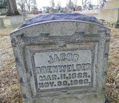 ODENWELDER, JACOB - Northampton County, Pennsylvania   JACOB ODENWELDER - Pennsylvania Gravestone Photos