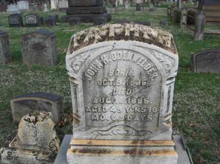 ODENWELDER, JOHN H. - Northampton County, Pennsylvania | JOHN H. ODENWELDER - Pennsylvania Gravestone Photos