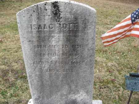 OTT, ISAAC - Northampton County, Pennsylvania | ISAAC OTT - Pennsylvania Gravestone Photos