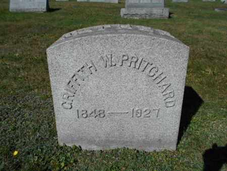 PRITCHARD, GRIFFITH W. - Northampton County, Pennsylvania   GRIFFITH W. PRITCHARD - Pennsylvania Gravestone Photos