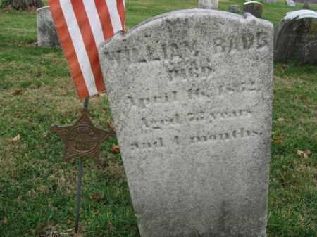 RAUB, WILLIAM - Northampton County, Pennsylvania | WILLIAM RAUB - Pennsylvania Gravestone Photos