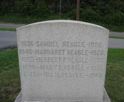 REAGLE (CW), SAMUEL - Northampton County, Pennsylvania | SAMUEL REAGLE (CW) - Pennsylvania Gravestone Photos