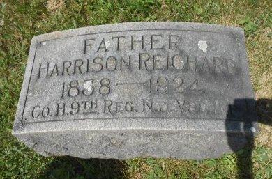 REICHARD (CW), HARRISON - Northampton County, Pennsylvania | HARRISON REICHARD (CW) - Pennsylvania Gravestone Photos