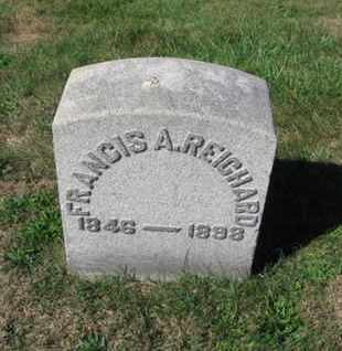 REICHARD, FRANCIS A. - Northampton County, Pennsylvania | FRANCIS A. REICHARD - Pennsylvania Gravestone Photos