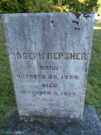 REPSHER, JOSEPH - Northampton County, Pennsylvania | JOSEPH REPSHER - Pennsylvania Gravestone Photos