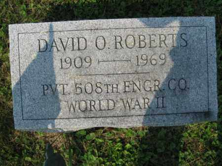 ROBERTS, DAVID O. - Northampton County, Pennsylvania | DAVID O. ROBERTS - Pennsylvania Gravestone Photos