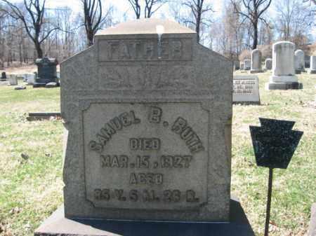 RUTH (CW), PVT.SAMUEL B. - Northampton County, Pennsylvania | PVT.SAMUEL B. RUTH (CW) - Pennsylvania Gravestone Photos