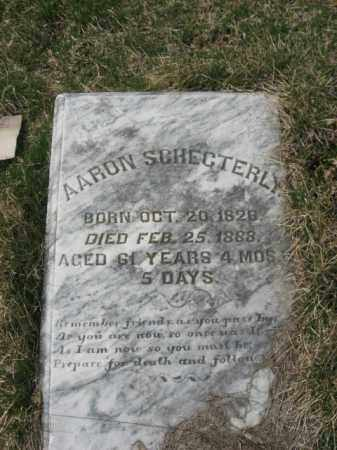 SCHECTERLY, AARON - Northampton County, Pennsylvania | AARON SCHECTERLY - Pennsylvania Gravestone Photos