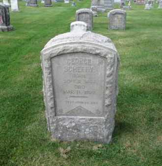 SCHEFFY, GEORGE - Northampton County, Pennsylvania | GEORGE SCHEFFY - Pennsylvania Gravestone Photos