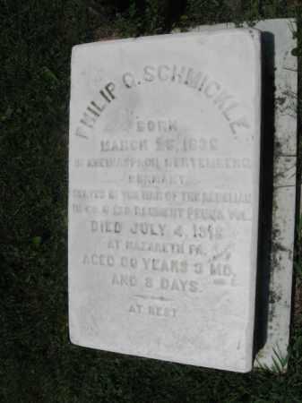 SCHMICKLE, PHILIP  C. - Northampton County, Pennsylvania | PHILIP  C. SCHMICKLE - Pennsylvania Gravestone Photos
