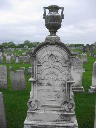 SCHUG, MOSES - Northampton County, Pennsylvania   MOSES SCHUG - Pennsylvania Gravestone Photos
