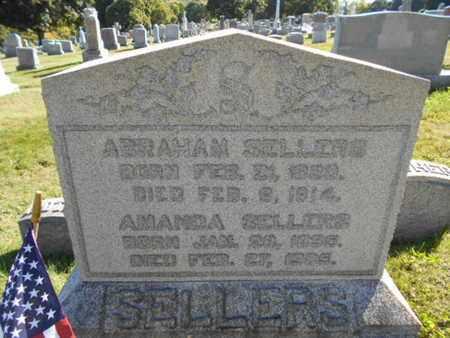 SELLERS (CW), ABRAHAM - Northampton County, Pennsylvania | ABRAHAM SELLERS (CW) - Pennsylvania Gravestone Photos