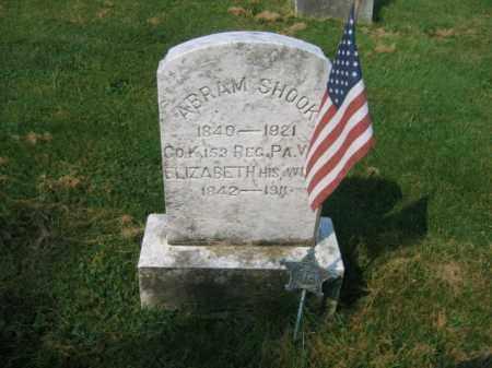 SHOOK, ABRAM - Northampton County, Pennsylvania   ABRAM SHOOK - Pennsylvania Gravestone Photos