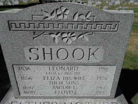 SHOOK (CW), LEONARD - Northampton County, Pennsylvania   LEONARD SHOOK (CW) - Pennsylvania Gravestone Photos