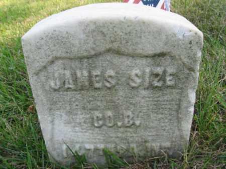 SIZE, JAMES - Northampton County, Pennsylvania | JAMES SIZE - Pennsylvania Gravestone Photos