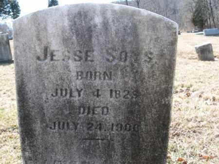 SOYS  (CW), PVT. JESSE - Northampton County, Pennsylvania   PVT. JESSE SOYS  (CW) - Pennsylvania Gravestone Photos
