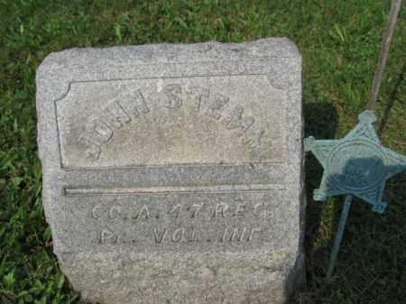 STEMM (STEM) (CW), JOHN - Northampton County, Pennsylvania | JOHN STEMM (STEM) (CW) - Pennsylvania Gravestone Photos