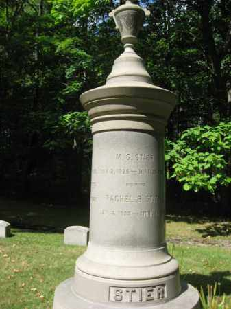 STIER, M.G. - Northampton County, Pennsylvania | M.G. STIER - Pennsylvania Gravestone Photos