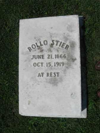 STIER, ROLLO - Northampton County, Pennsylvania   ROLLO STIER - Pennsylvania Gravestone Photos