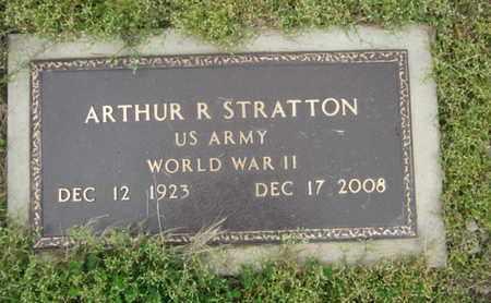 STRATTON, ARTHUR R. - Northampton County, Pennsylvania   ARTHUR R. STRATTON - Pennsylvania Gravestone Photos