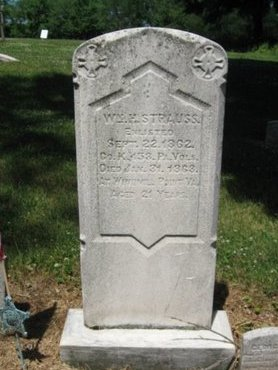 STRAUSS (CW), WILLIAM H. - Northampton County, Pennsylvania | WILLIAM H. STRAUSS (CW) - Pennsylvania Gravestone Photos