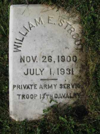 STROUT, WILLIAM E. - Northampton County, Pennsylvania | WILLIAM E. STROUT - Pennsylvania Gravestone Photos