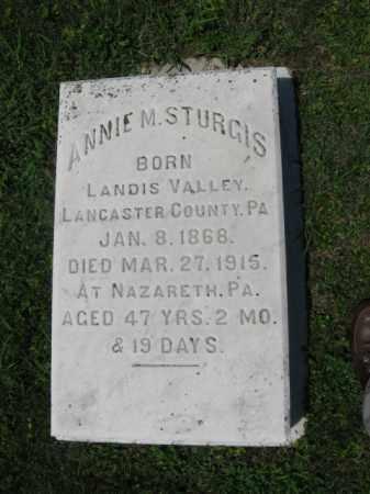 STURGIS, ANNE  M. - Northampton County, Pennsylvania | ANNE  M. STURGIS - Pennsylvania Gravestone Photos