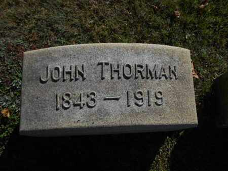 THORMAN, JOHN - Northampton County, Pennsylvania | JOHN THORMAN - Pennsylvania Gravestone Photos