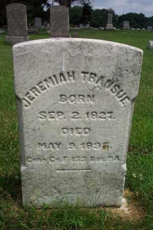 TRANSUE (CW), JEREMIAH - Northampton County, Pennsylvania | JEREMIAH TRANSUE (CW) - Pennsylvania Gravestone Photos