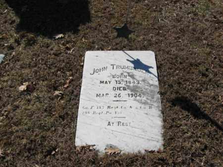 TRUMBAUER  (CW), PVT.JOHN - Northampton County, Pennsylvania | PVT.JOHN TRUMBAUER  (CW) - Pennsylvania Gravestone Photos
