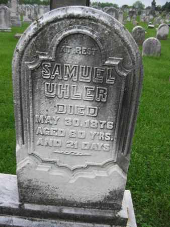 UHLER, SAMUEL - Northampton County, Pennsylvania   SAMUEL UHLER - Pennsylvania Gravestone Photos