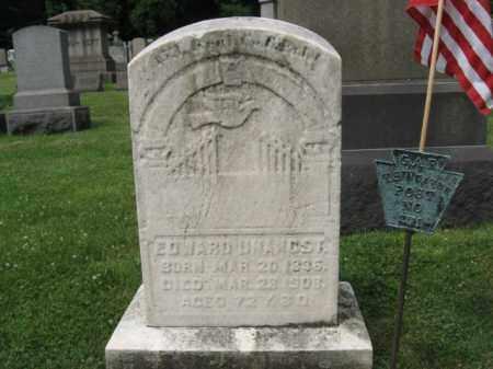 UNANGST (CW), EDWARD - Northampton County, Pennsylvania   EDWARD UNANGST (CW) - Pennsylvania Gravestone Photos
