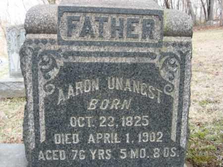 UNANGST, AARON - Northampton County, Pennsylvania   AARON UNANGST - Pennsylvania Gravestone Photos
