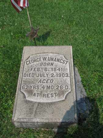 UNANGST (CW), GEORGE   W. - Northampton County, Pennsylvania | GEORGE   W. UNANGST (CW) - Pennsylvania Gravestone Photos